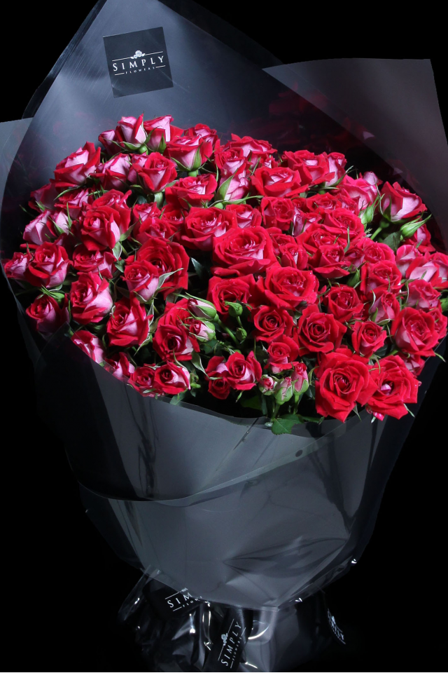 Red Baby Rose Bouquet