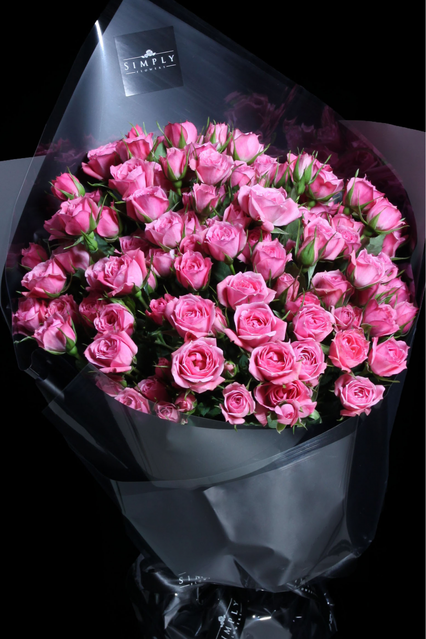 Pink Baby Rose Bouquet